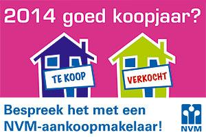 2014 goed koopjaar nvm venlo makelaar koop huizen aankoop