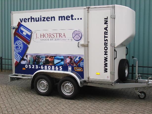 Verhuisservice van Horstra Makelaardij & Taxaties