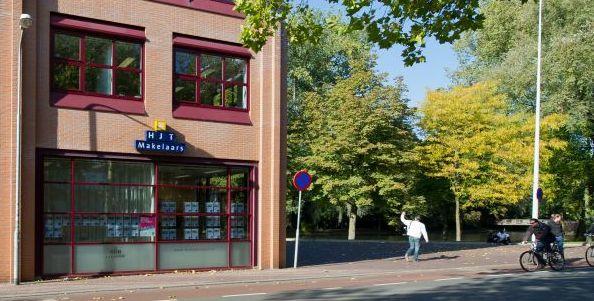 Kantoor van HJT Makelaars in Wageningen