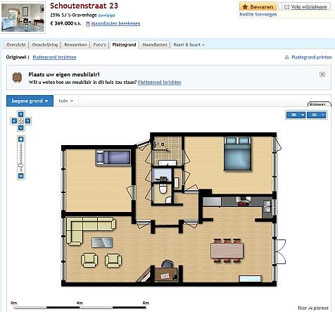 voorbeeld interactieve plattegrond