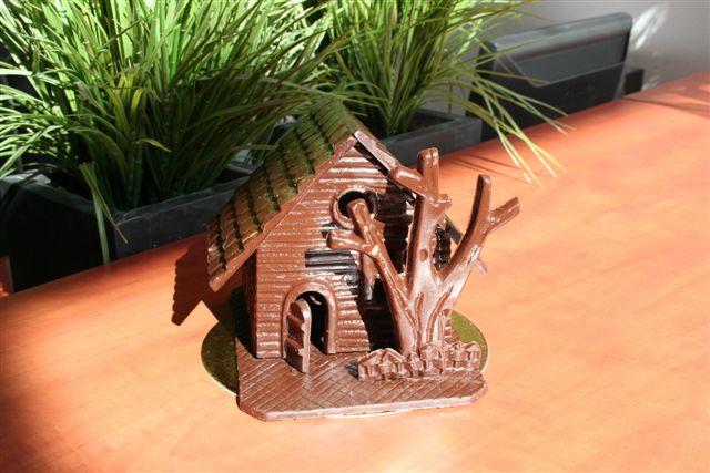 Foto van chocolade huisje