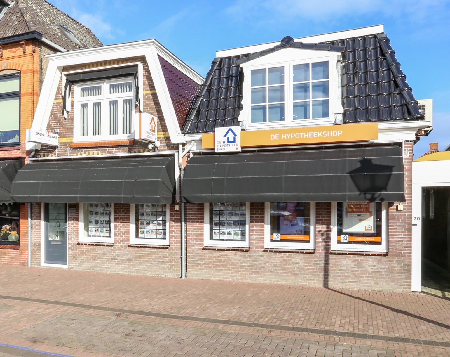 Kantoor Vestiging Kingma & Walinga makelaars en taxateurs Lemmer