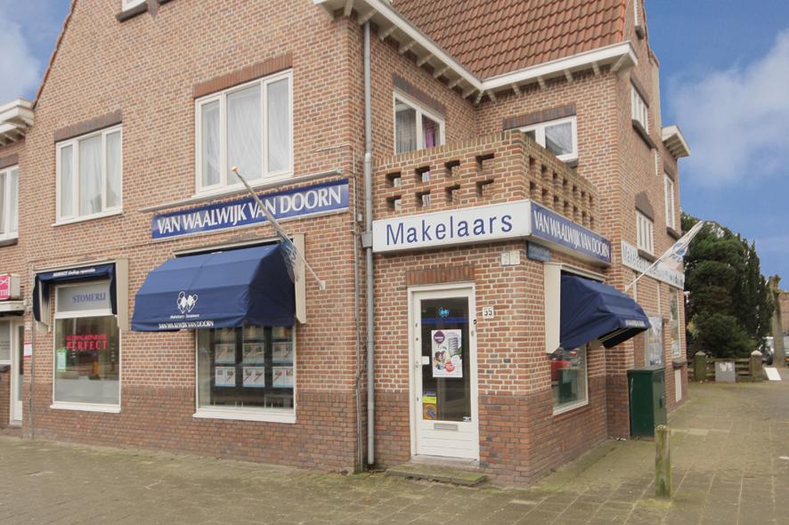 Kantoor Vestiging Van Waalwijk van Doorn Makelaars-Taxateurs Haarlem