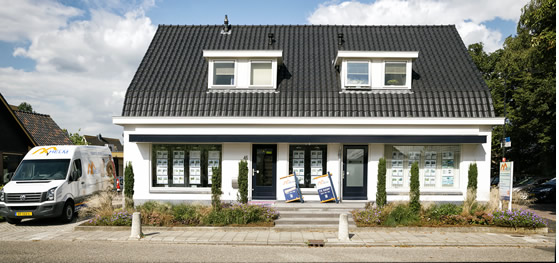 Kantoor Vestiging Van der Helm Woning- en Bedrijfsmakelaars