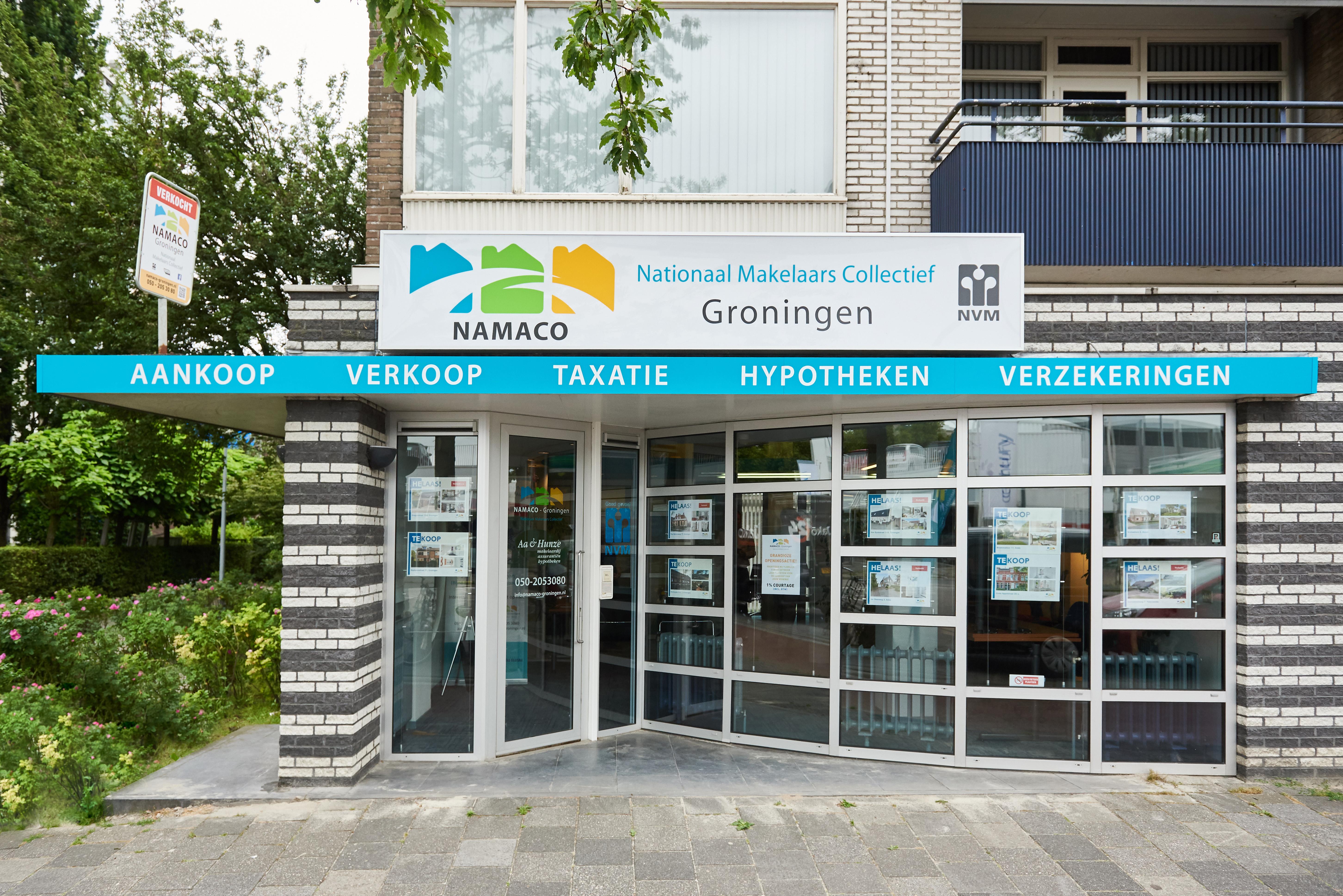 Kantoor Vestiging NAMACO Groningen