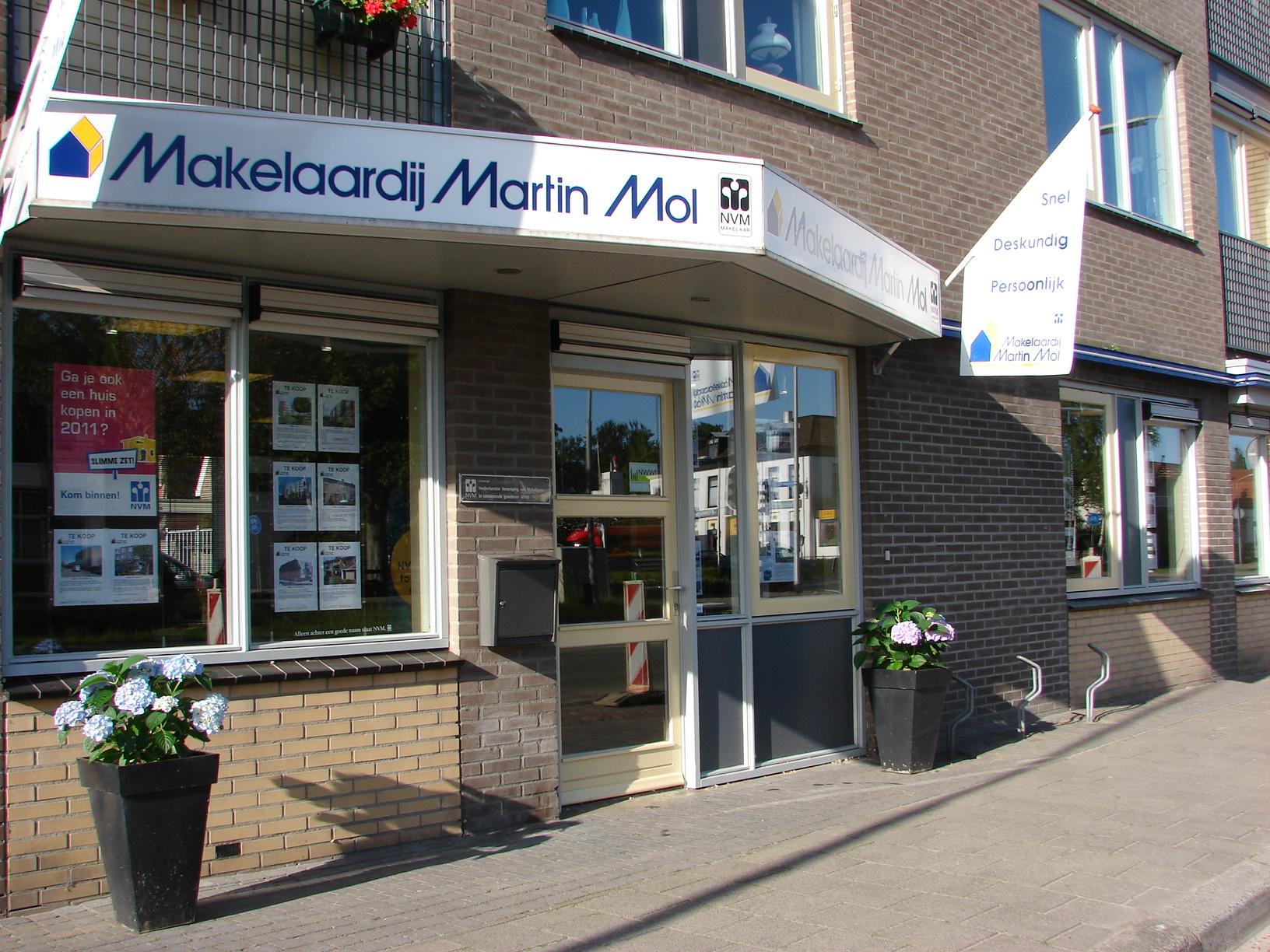 Kantoor Vestiging Martin Mol Makelaardij o.g.