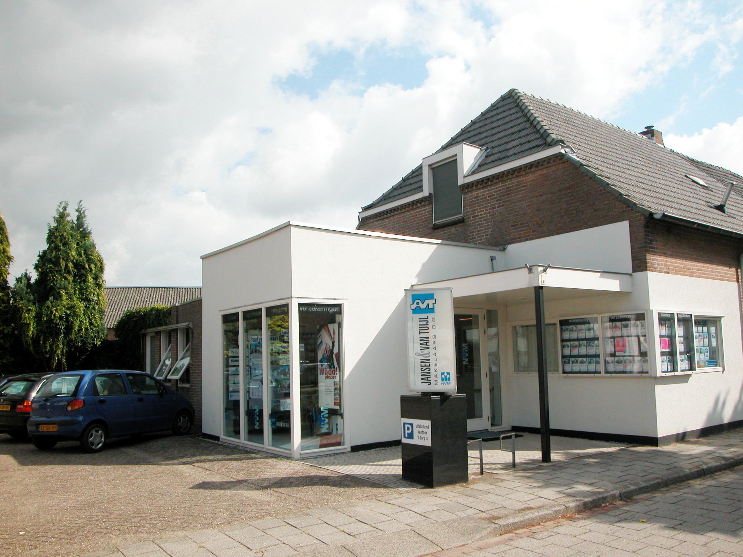 Kantoor Vestiging Jansen & Van Tuijl Makelaars o.g.