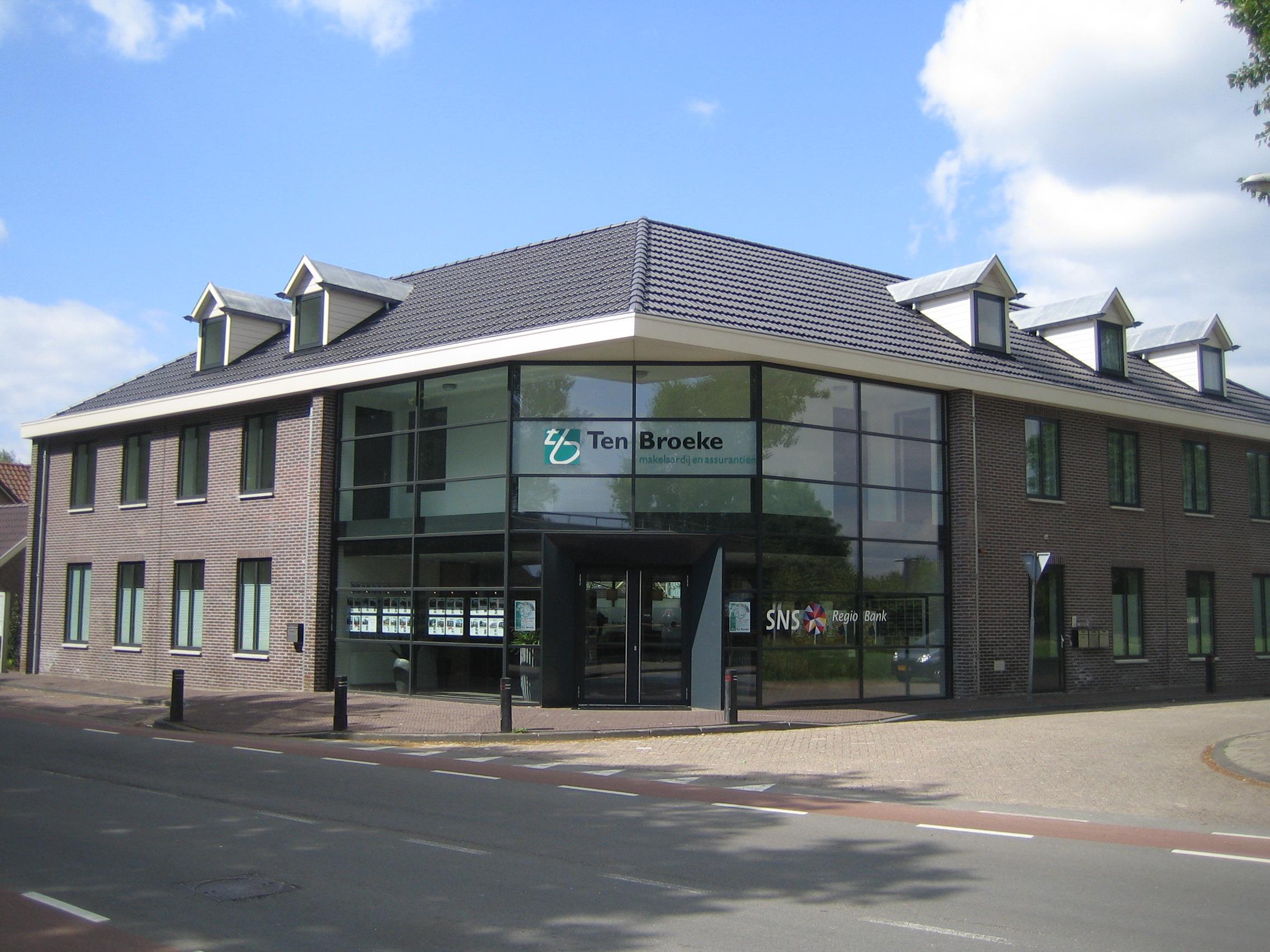 Kantoor Vestiging Ten Broeke makelaardij en verzekeringen