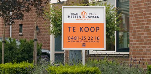 Kantoor Vestiging Bram Heezen & Paul Jansen Makelaardij