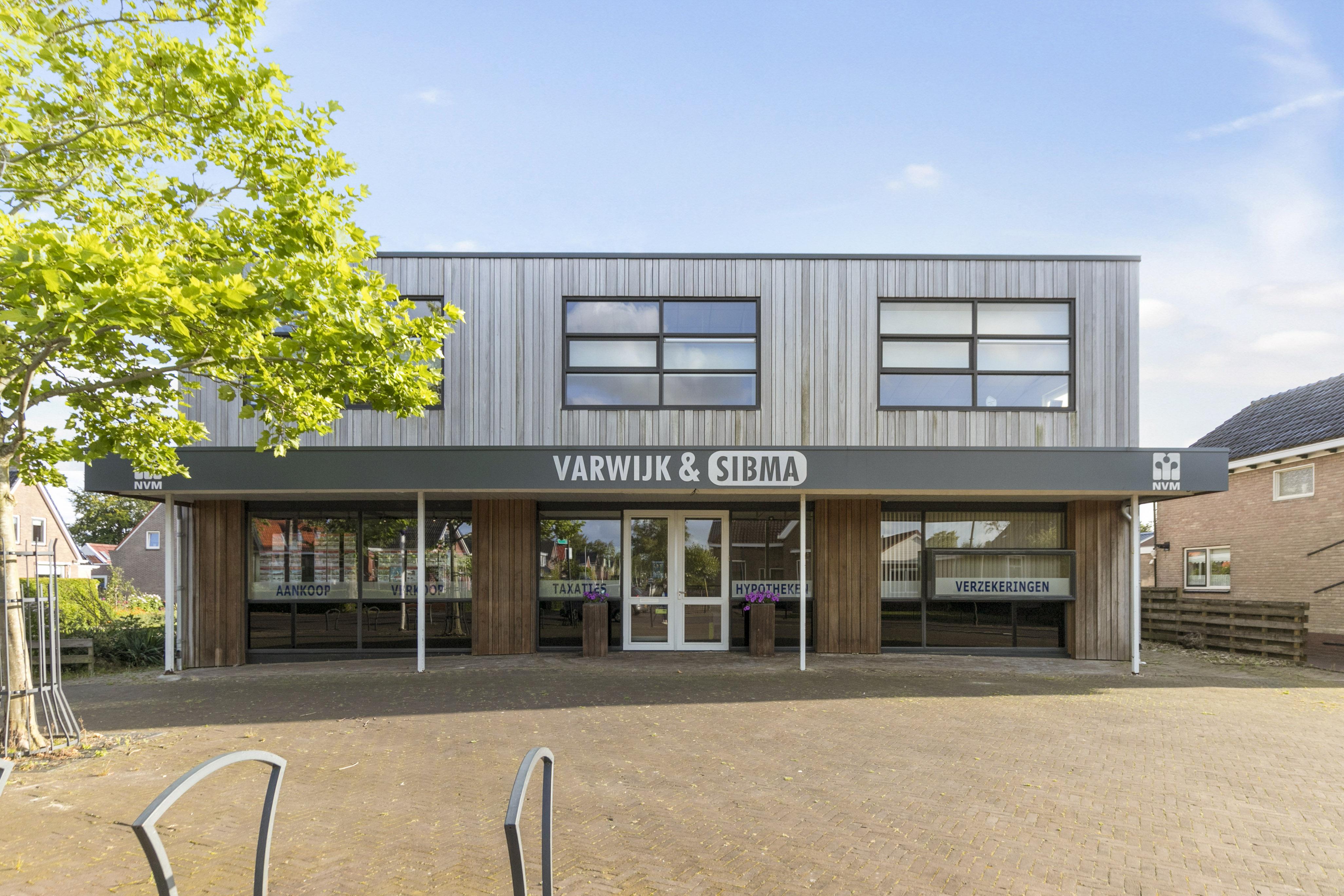 Kantoor Vestiging Varwijk & Sibma Makelaardij