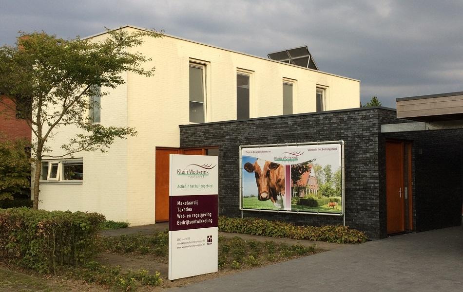 Kantoor Vestiging Klein Wolterink Vastgoed