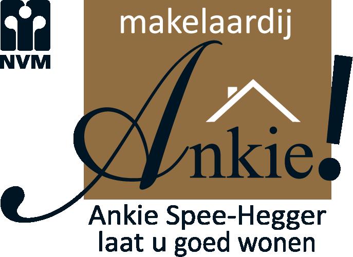 logo v.o.f. Makelaardij Ankie!