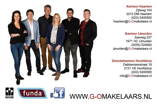 Kantoor Vestiging G&O Makelaars Haarlem