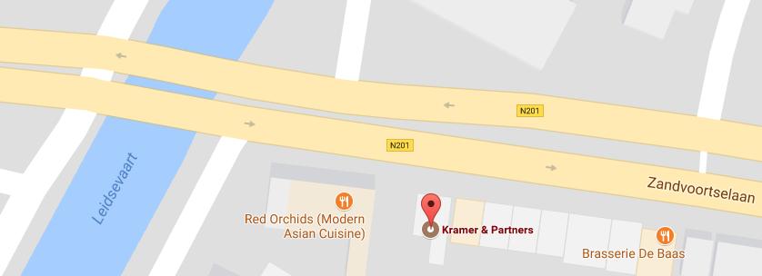 Kantoor Vestiging Kramer & Partners Makelaars