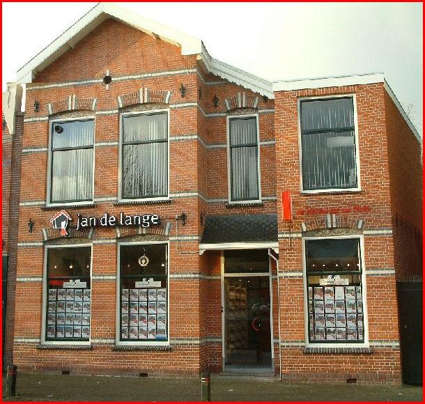 Kantoor Vestiging Makelaardij Jan de Lange B.V.