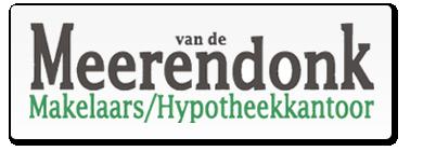 Logo Van de Meerendonk Makelaars-/Hypotheekkantoor BV