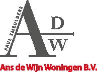 Logo Ans de Wijn Woningen b.v.