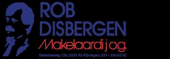 Logo Rob Disbergen Makelaardij o.g. B.V.