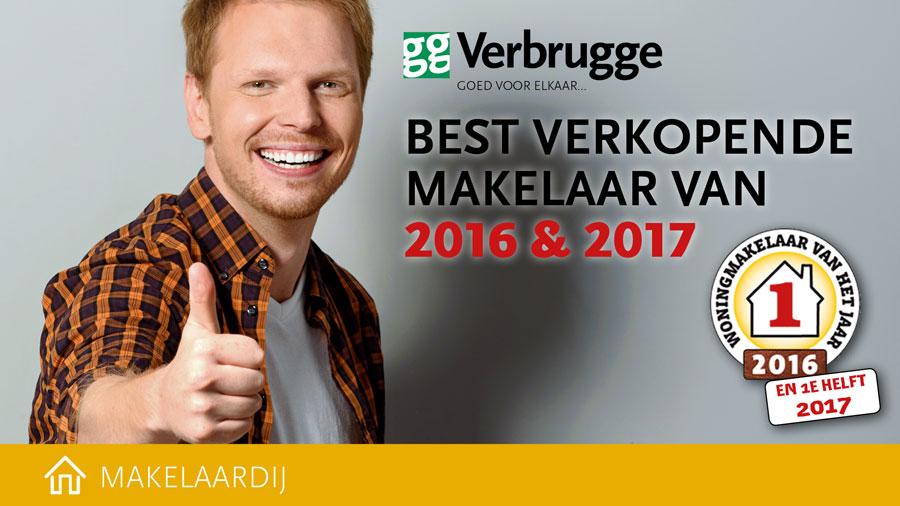 Beste makelaar 2017 en 2016