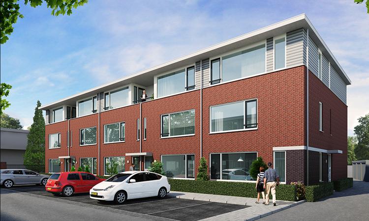 15 nieuwbouw appartementen in Oosterhout