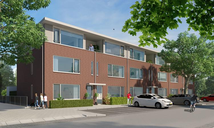18 nieuwbouw appartementen in Oosterhout