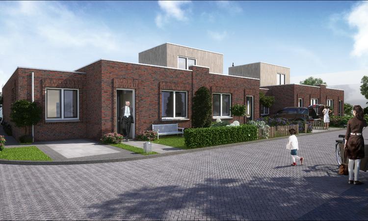 Nieuwbouw 4 patiowoningen en 8 starterswoningen in Raamsdonk