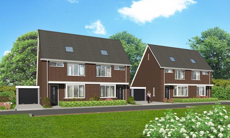 4 nieuwbouw woningen in Raamsdonk
