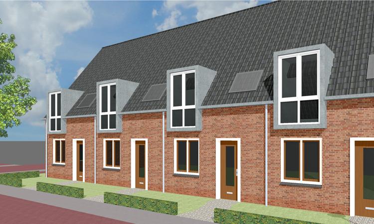 22 nieuwbouw woningen in Raamsdonk