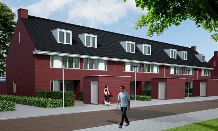 21 nieuwbouw woningen in Raamsdonksveer