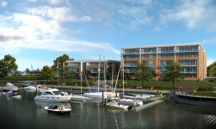 51 nieuwbouw appartementen in Raamsdonksveer