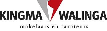 Logo Kingma & Walinga makelaars en taxateurs Lemmer