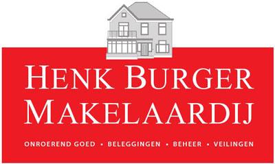 Logo Henk Burger Makelaardij o.g. b.v.