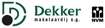 Logo Dekker Makelaardij o.g.