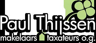 Logo Paul Thijssen makelaars en taxateurs o.g.
