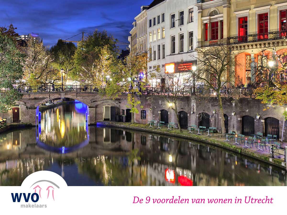 De 9 voordelen van wonen in Utrecht