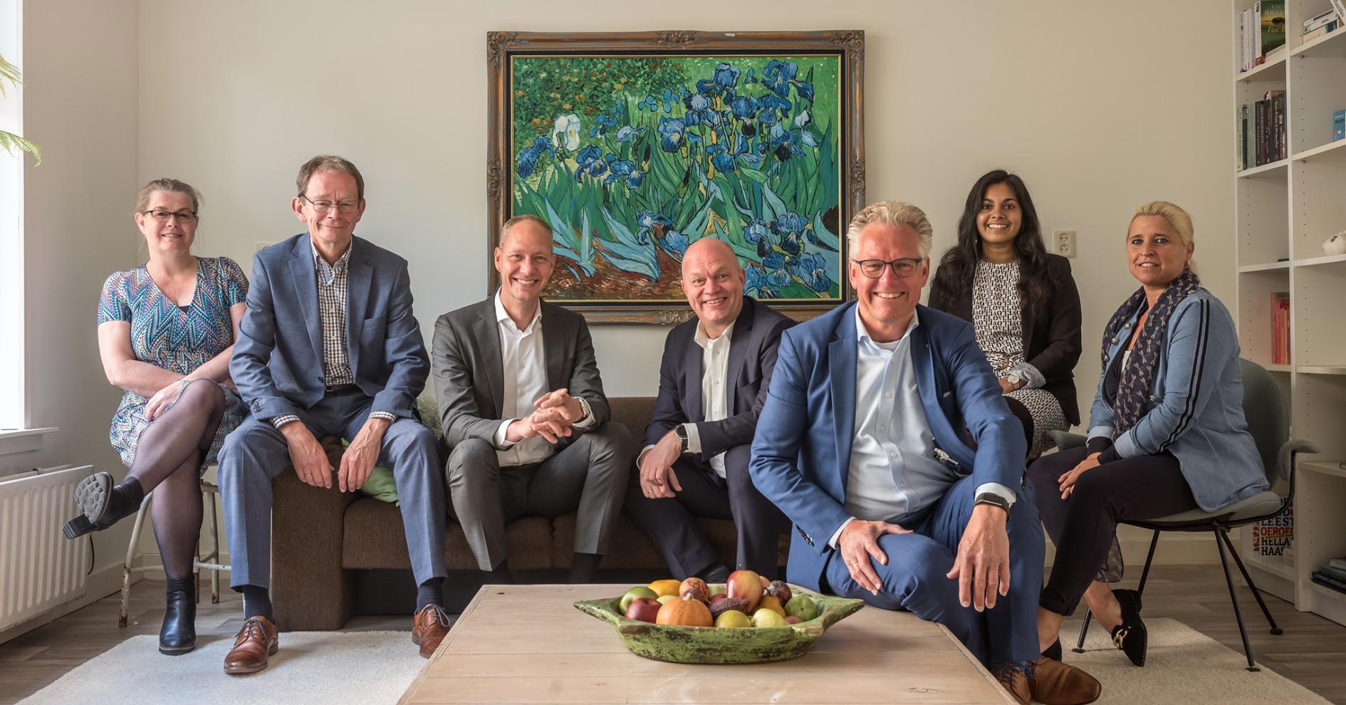 Mennes voor Wonen Groningen teamfoto