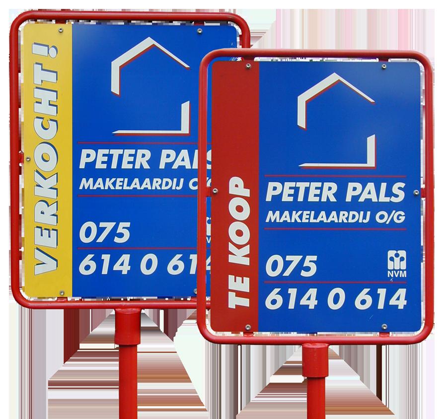Duidelijke presentatie van uw aanbod met Peter Pals tuinborden