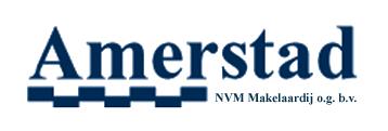 Logo AMERSTAD NVM-wereldmakelaars