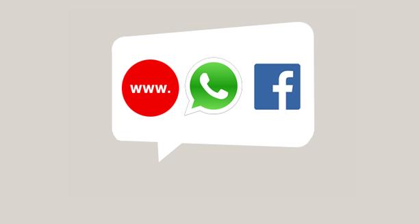 Nu ook bereikbaar via Livechat, Whatsapp en Facebook chat