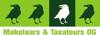 Logo De Witte Raaf Makelaars en Taxateurs O.G. B.V.