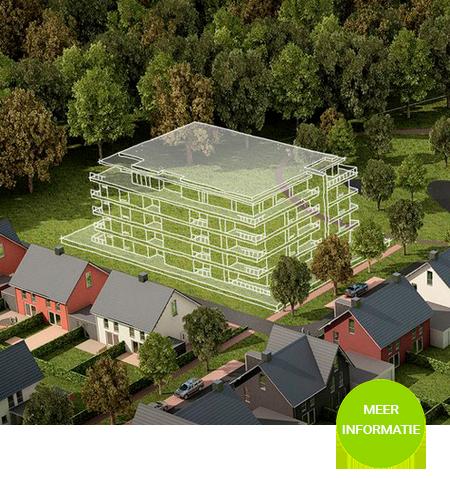 """Een appartementencomplex met 30 luxe appartementen in het plan """"Sparrenlaene""""in Boxtel"""