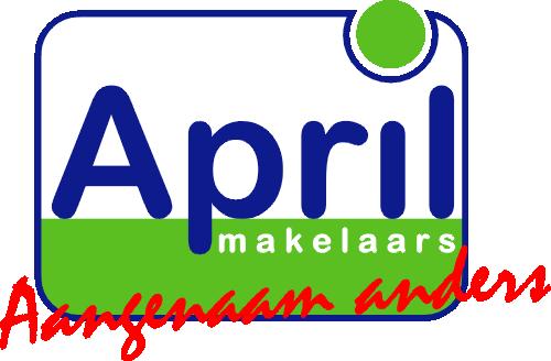 Logo April makelaars Gouda