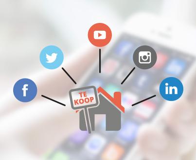Uw woning onder de aandacht via Social Media