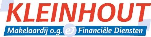 Logo Kleinhout Makelaardij, Kleinhout-Wildschut Verzekeringen en WHC Hypotheken