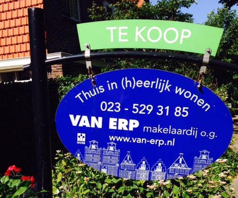 Logo Van Erp Makelaardij o.g.