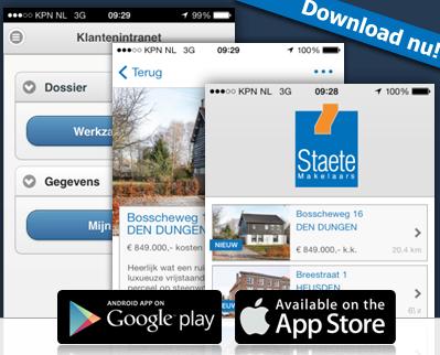 Staete Makelaars App