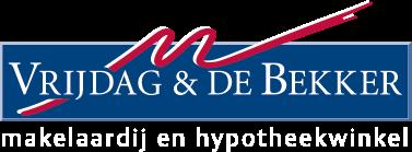 Logo Vrijdag & De Bekker makelaardij en hypotheekwinkel