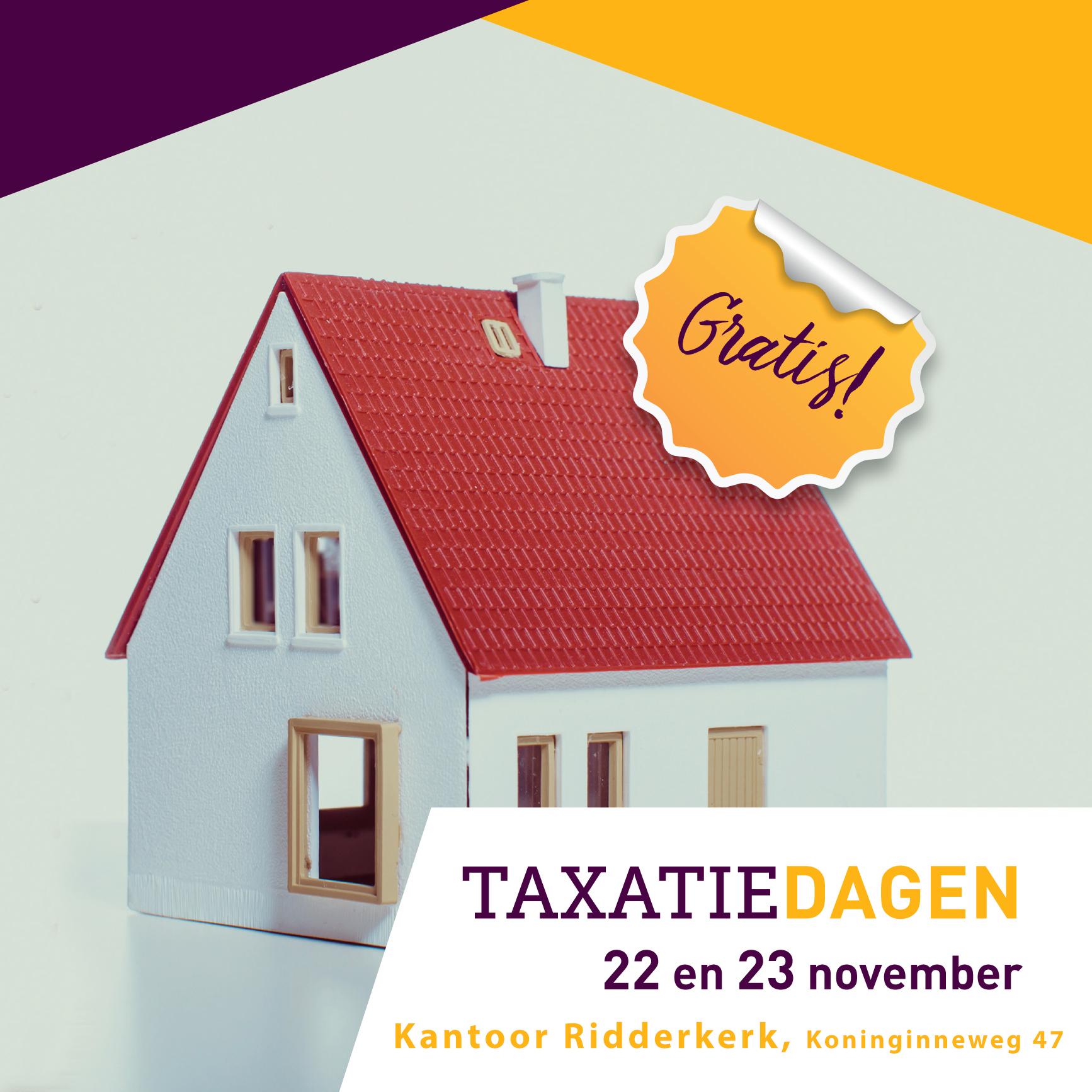 Taxatiedagen Ridderkerk
