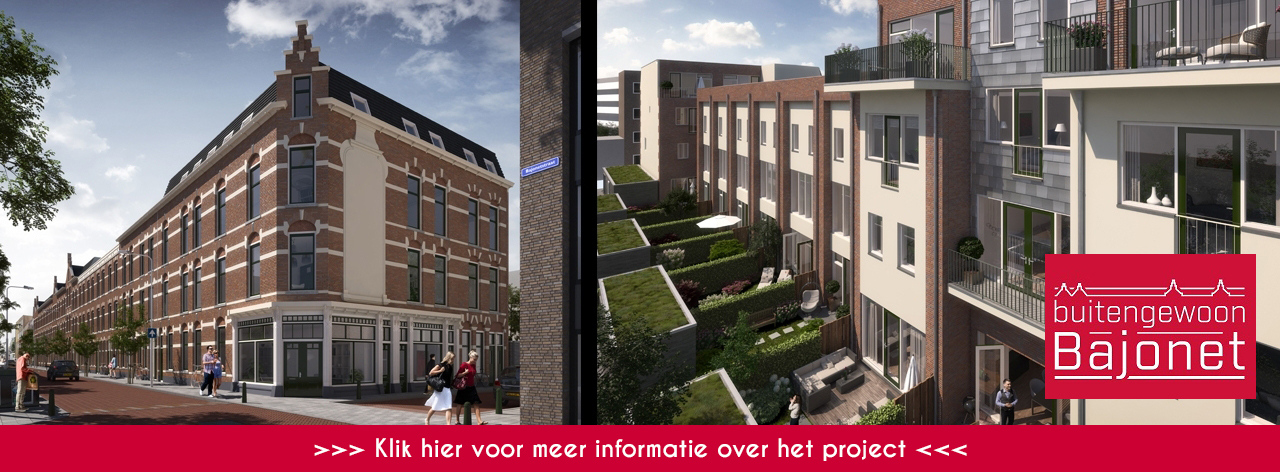 Op 23 oktober start de verhuur van project Buitengewoon Bajonet fase 4.