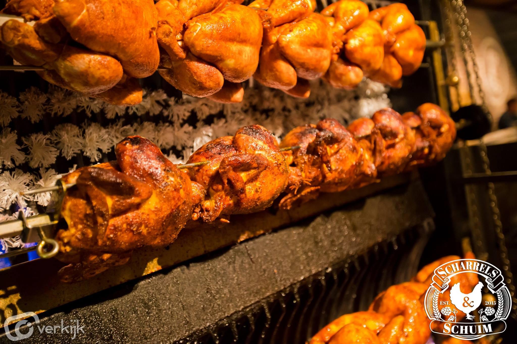 Scharrels en schuim restaurant Rotterdam